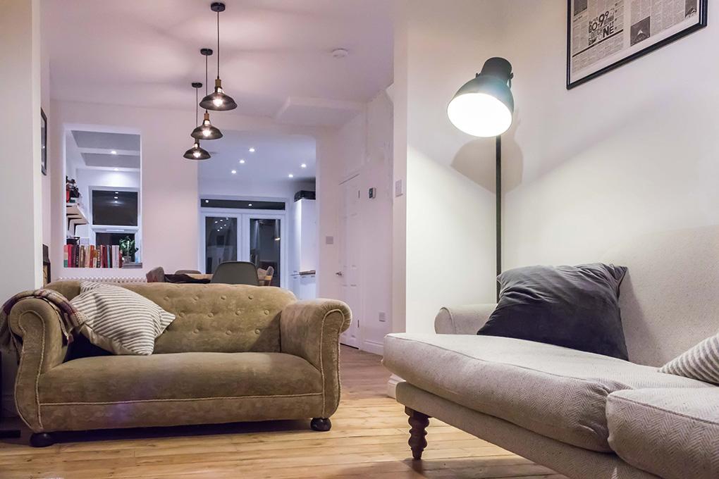 floor kitchen extension; loft extension; ground floor kitchen